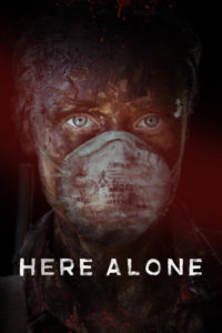 "Poster for the movie ""Here Alone"""