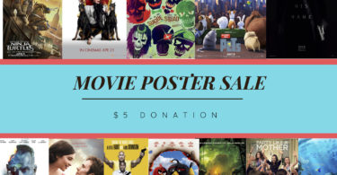 MOVIE POSTER SALE