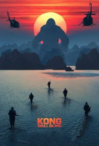 "Poster for the movie ""Kong: Skull Island"""