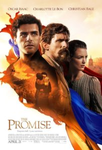 "Poster for the movie ""The Promise"""