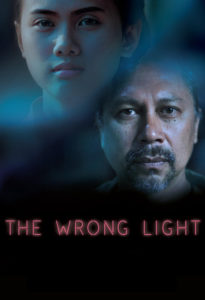 "Poster for the movie ""The Wrong Light"""