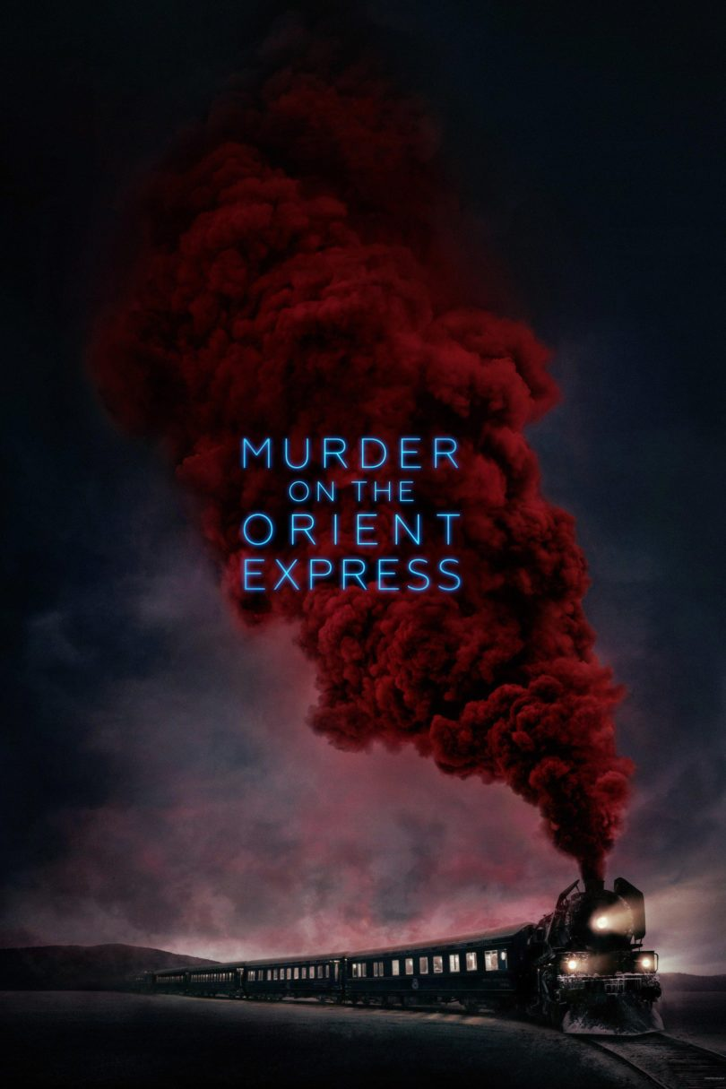 "Poster for the movie ""Murder on the Orient Express"""