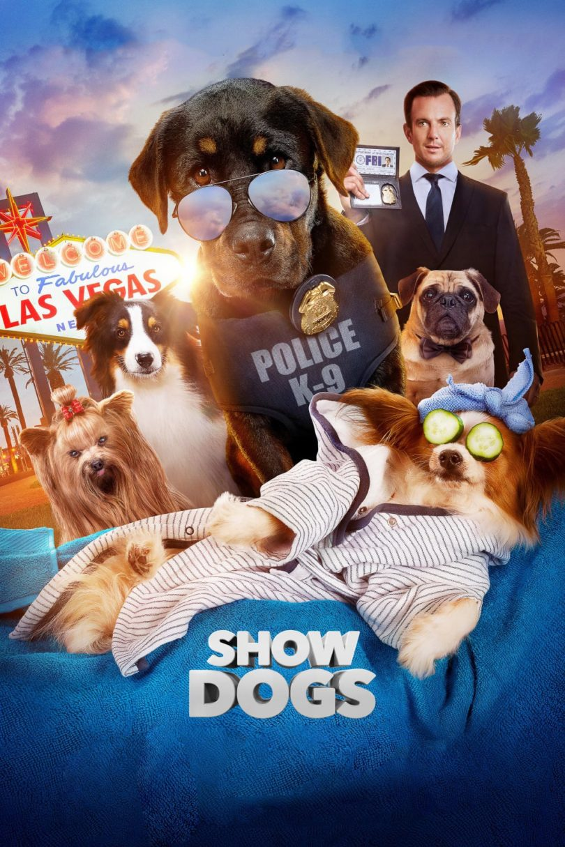"Poster for the movie ""Show Dogs"""