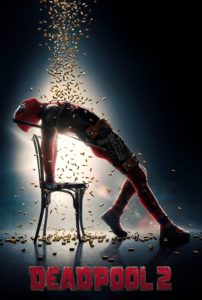 "Poster for the movie ""Deadpool 2"""