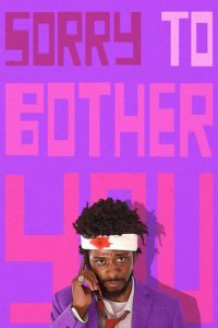 "Poster for the movie ""Sorry to Bother You"""