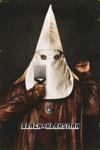 "Poster for the movie ""BlacKkKlansman"""