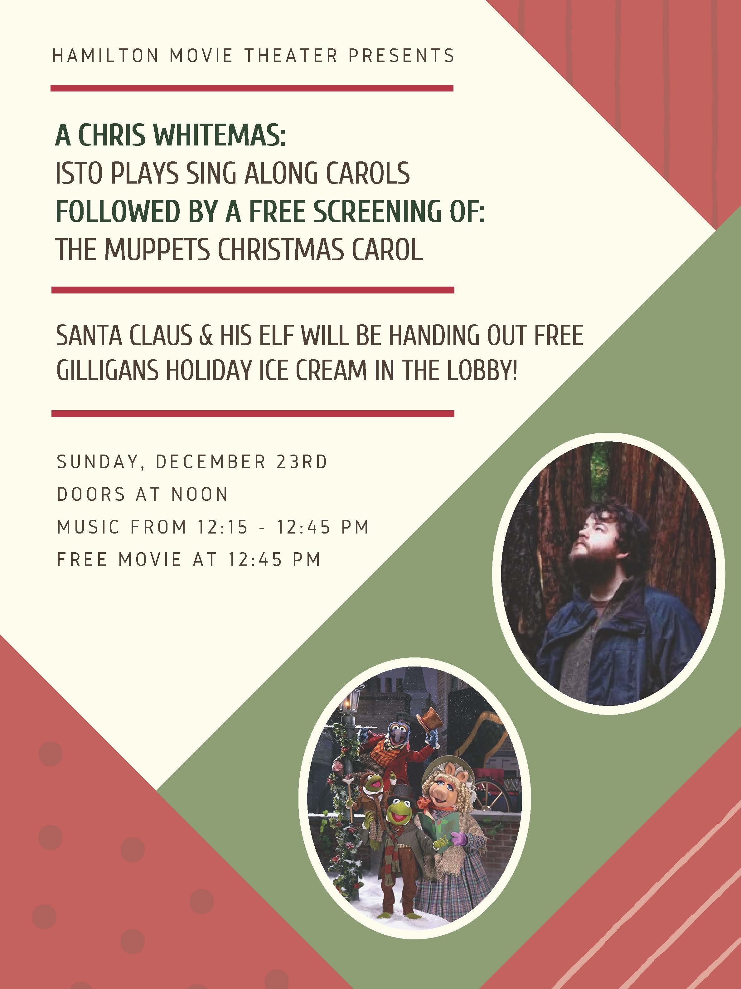 Holiday Theater Fun With The Santa Clause, Muppets,Sing Alongs and ...