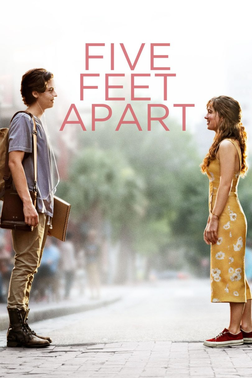 "Poster for the movie ""Five Feet Apart"""