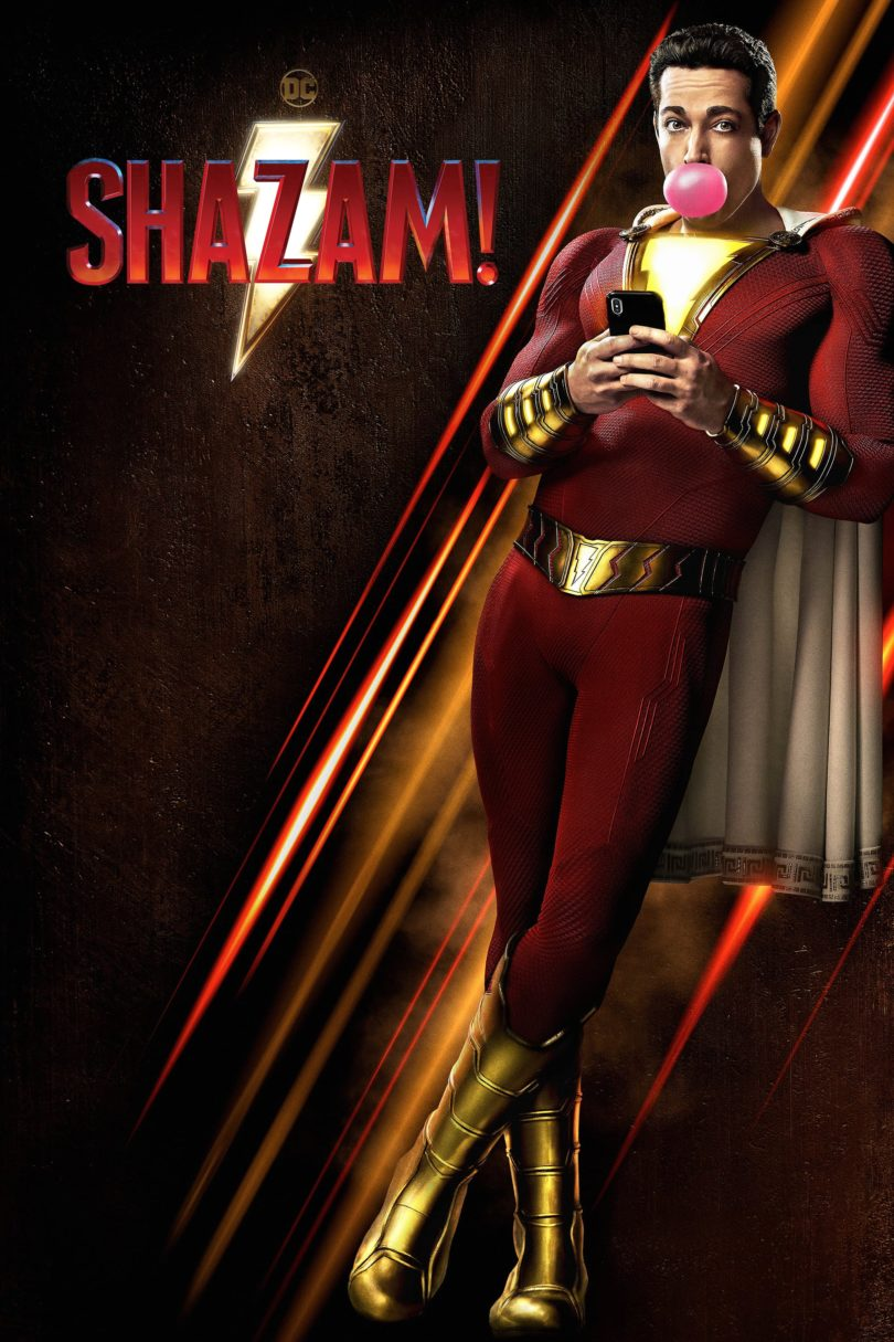 """Poster for the movie """"Shazam!"""""""